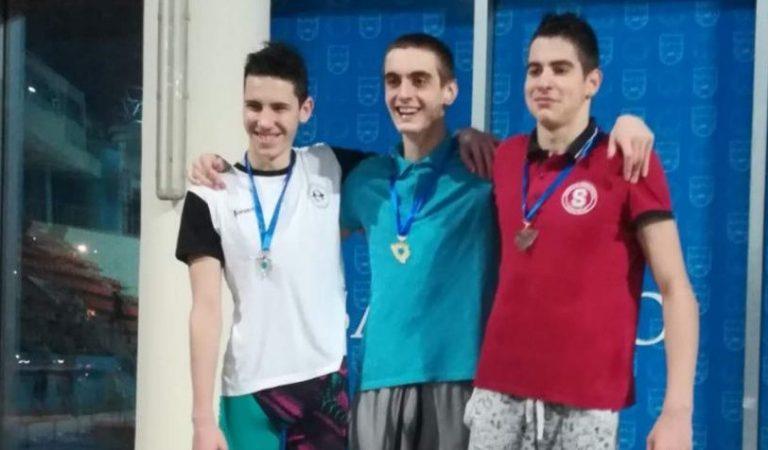 Tarik Gušić, šampion BiH u plivanju
