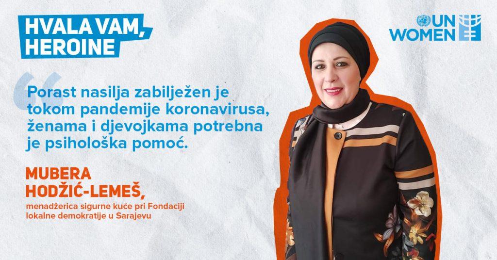 "Počela UN Women BiH kampanja ""Hvala vam, heroine"""
