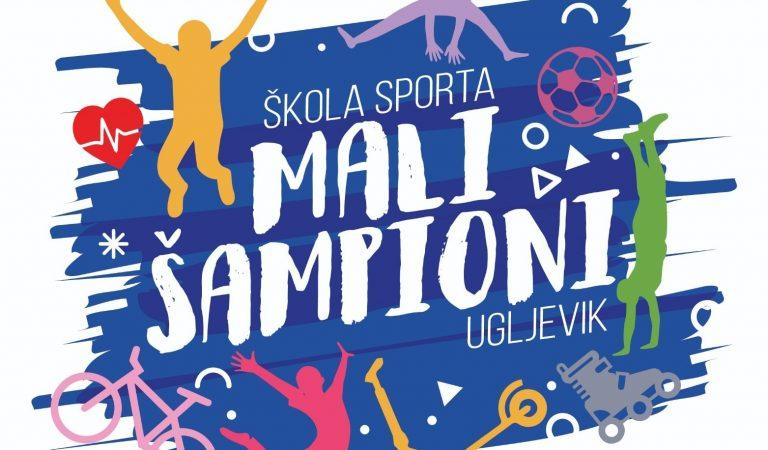 """Škola sporta """"Mali šampioni"""" u Ugljeviku"""