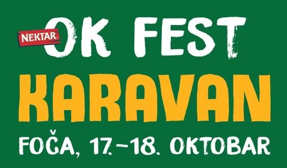 OK Fest Karavan za vikend stiže u Foču!