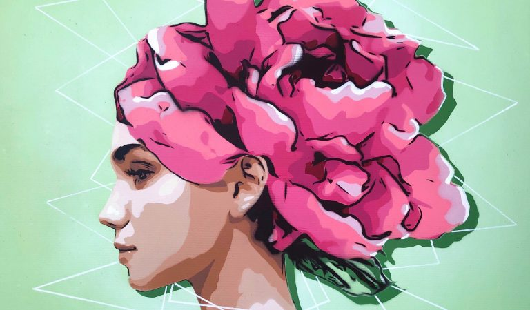 Kako se spajaju stencil art i dizajn entrijera u djelima mlade umjetnice Moverame?