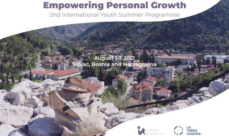 """Stolac: 2. Međunarodni ljetni program mladih """"Empowering Personal Growth"""""""